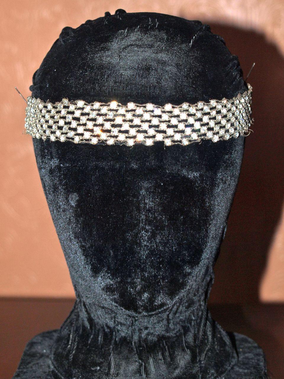 2 Flapper Paste Bandeaux Headbands