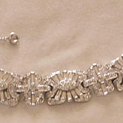 1930's Art Deco Paste Bracelet