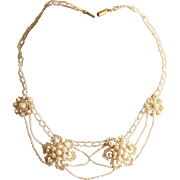 Georgian Natural Seed Pearl Necklace