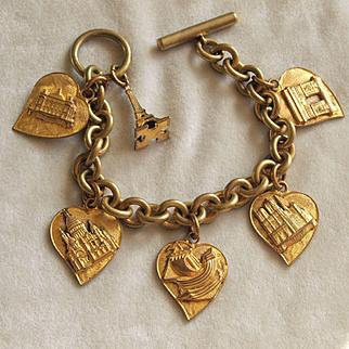 Unusual Paris Souvenir Bracelet