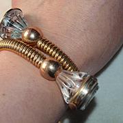 "Croton 1930""s Crisscross Bracelet Watch"