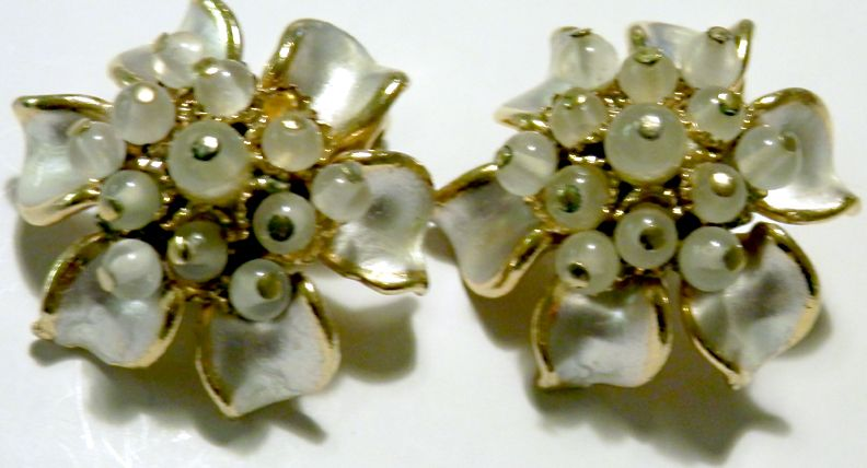 Enamel & Glass Bead FLORENZA Earrings