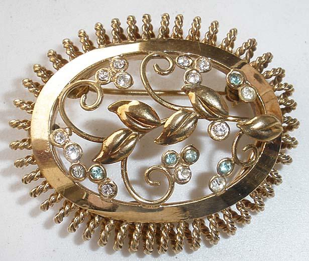 WALTER LAMPL Victorian Revival GF Brooch/Pendant