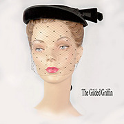 Vintage French Hat For Your Little Black Dress
