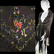 Vintage 1920s Bohemian Dress Shawl