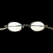 Civil War Era c 1865 Reading Eyeglasses for Men or Women