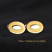Antique Every Day Cufflinks, Circa 1910, 12-Karat Gold-Filled