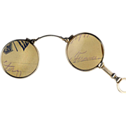 Outstanding Sterling Silver Lorgnette or Articulated Reading Glasses with Downton Abbey Style!