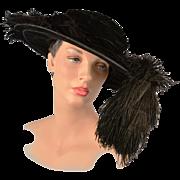 Antique Victorian Hat circa 1899