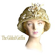 Hat! Antique Historic WWI Couture Hat  Dates to About 1915...A Millinery Masterpiece