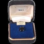 Vintage Swank Onyx Tie Tac NOS in Orig. Box