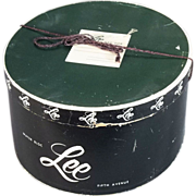 Lee Hats Mens Vintage Hat Box