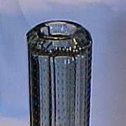 Italian Murano internal bubbles deco skyscraper vase
