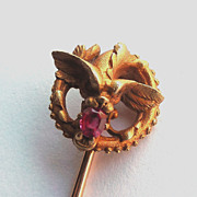 Plisson Et Hartz Chimerical Sea Creature Stickpin Stick Pin In 18K