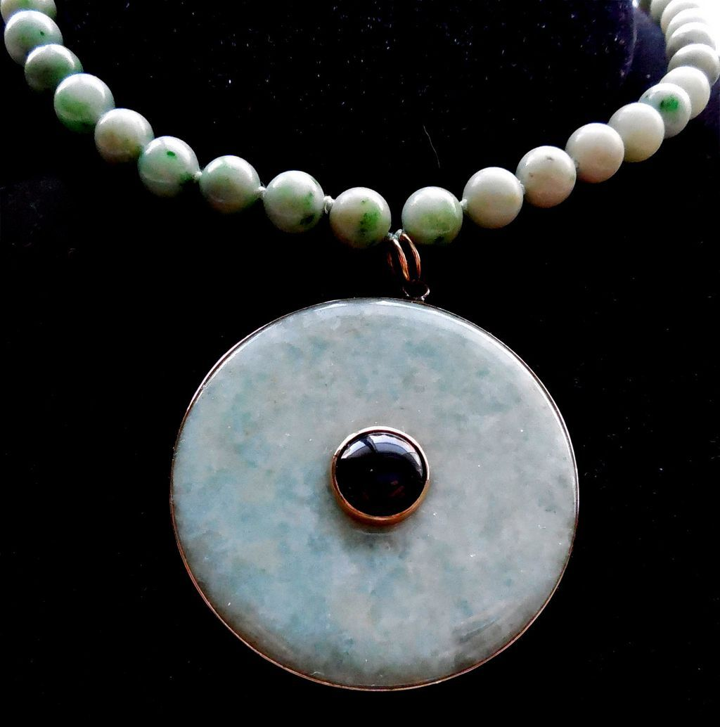 Gorgeous Chrysoprase Statement Necklace