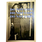 Mayor Richard J Daley With ? Vintage Chicago Photograph