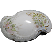 Antique Limoges Porcelain Box - MR Martial Redon - Covered Porcelain Box