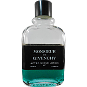 Retro Original Formula Monsiuer De Givenchy After Shave 1/3 Full