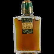 Estate Found Emeraude de Coty Perfume French Label - 0.2 oz size - Unused