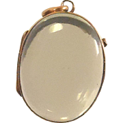 True Victorian 14k Gold Pools Of Light Locket