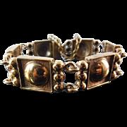 Vintage Finland Bronze Bracelet - Made In Finland - Circa 1970