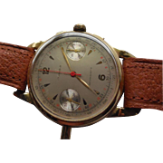 Vintage Cold War Era German Minifon Protona SPY Recorder Microphone Disguised as Chronograph Wristwatch