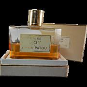Eau De Joy Splash On In Original Box Jean Patou Bottle Half Full