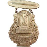 Antique Cincinnati Golden Jubilee 1849 1899 Commemorative Badge or Medal
