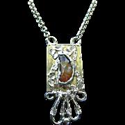 Fantastic BOLD Mid Century Modern Scandinavian Necklace by Wiggers Denmark
