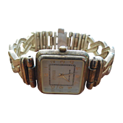 Gorgeous Sterling Silver Wristwatch by Ecclissi  - 73 Grams! Solid Sterling Band