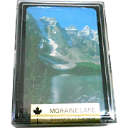Sealed Vintage Playing Cards Moraine Lake Canada Estrie Graphics