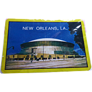 Vintage Playing Cards Sealed Deck New Orleans Superdome