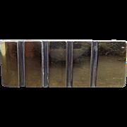 Vintage Money Clip Sterling & 14K Gold - Signed Colibre