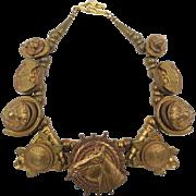 Vintage PATRICE Horse Animal Theme Necklace