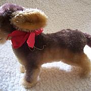 Rare Steiff  largest size 'Lumpi ' Dachshund Dog,1964 to 1975, No Button
