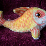 Steiff Flossy Fish , 1968 to 1975, No Id's