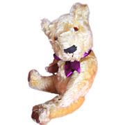 Wonderful William, Chad Valley Magna Teddy Bear 1930's with Magna Label