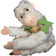 Jingle, Steiff Miniature  Jocko Monkey, 1958 to 1964, Steiff Button