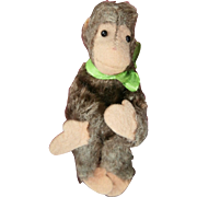 Miniature Steiff Jocko Monkey, 1958 to 1964, Steiff Button