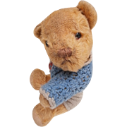 Malcolm,  Vintage Small English Invicta Teddy Bear
