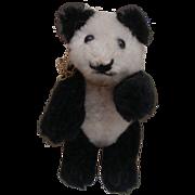 Cute Vintage  Miniature Heike Panda Teddy Bear  ( Schuco )