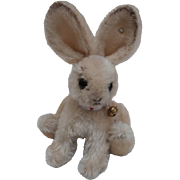 Steiff Vintage Changeable Rabbit, 1959 to 1964, Steiff Button