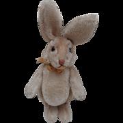 Rare Vintage Larger Size Steiff Niki Rabbit, 1959 to1964, No Id's