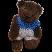 Cute Vintage Miniature Heike Brown Teddy Bear ( Schuco )