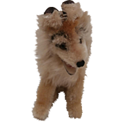 Steiff Collie, Smallest Size, 1960 to 1963, No Id's