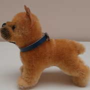 Steiff Sarras Boxer Dog ,1958 to 1964, Steiff Button