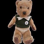 Tufty,  Well Loved Vintage English Chiltern Teddy Bear