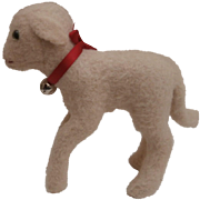 Lovely Steiff  Lamb Lamby, 1958 to 1964, Steiff Button