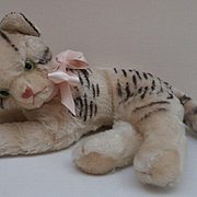 Rare Steiff Fiffy Pussy Cat, 1955 to 1962, No Id's