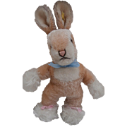 Steiff Sassy Bunny Rabbit, 1965 to 1970, Steiff Button